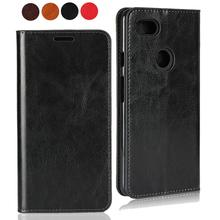 For Google Pixel 4 3 3A XL Ultra Slim Genuine Leather Luxury Wallet Card Flip cover for 3XL 3AXL Cases