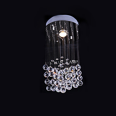 LED Modern Crystal Ceiling Lamp Lights With 1 Light For Living Room Bedroom Lighting Lustre De Cristal Free Shipping