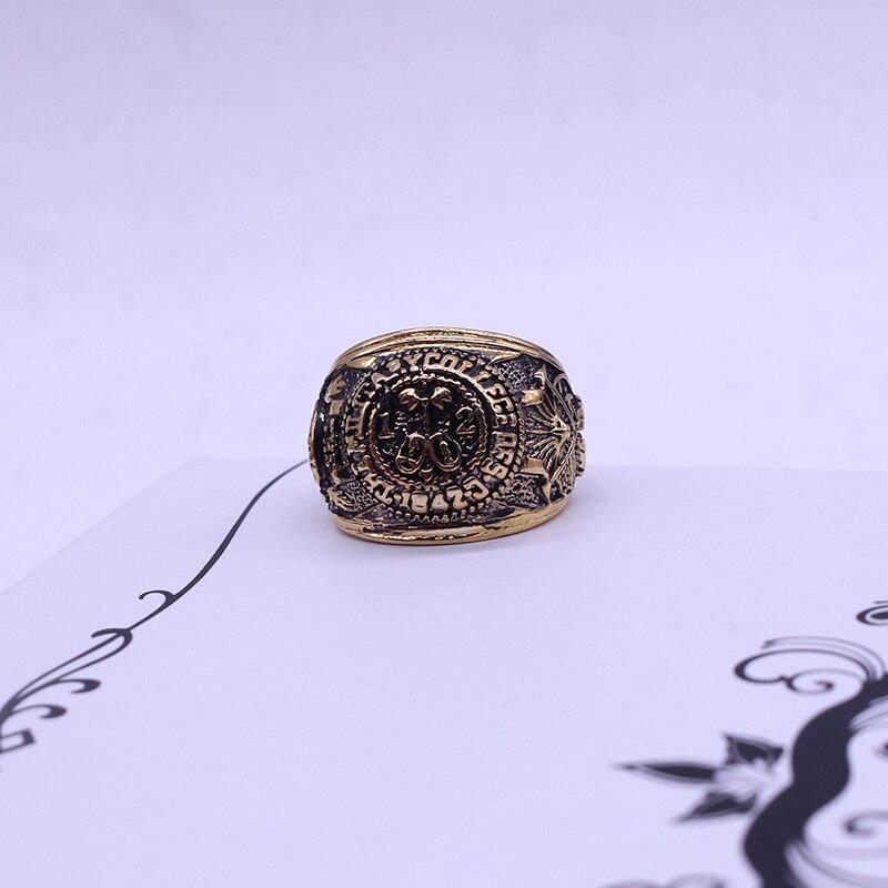 Bedste Sælger Ring Mænd Film Smykker House of Cards Vintage Swirl - Mode smykker - Foto 6
