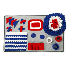 Pet Sniffing Training Mat Pad Find Food Blanket Dog Activity For Relieve Stress Puzzle Playing