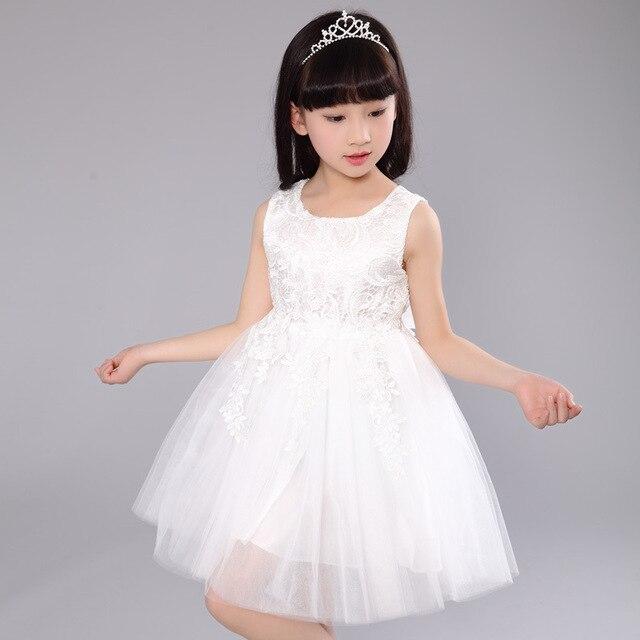 54c9bc411c7 Детская 2016 Корея детское платье на свадьбу Вечернее платье девушка  показать платье с цветочным узором для