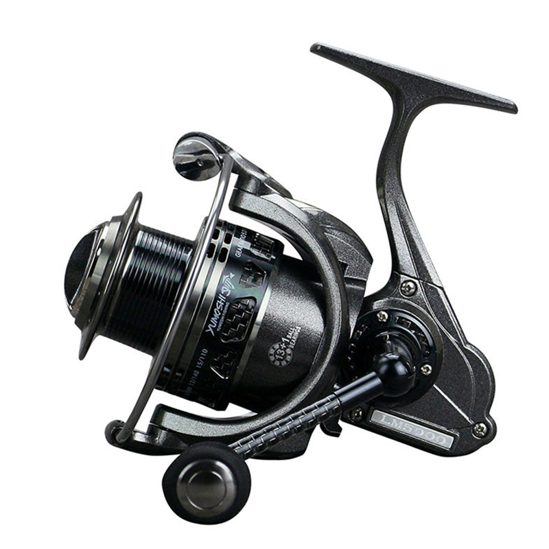 2017 New Water Resistant Carbon Drag Spinning Fishing Reel LM2000-5000 Baitcasting Carp Reel 13+1BB 5.5: 1 Saltwater Lure Wheel piscifun 2017 venom water resistant spinning reel max drag 12kg carbon drag 10 1 ball bearings sea boat spinning fishing reel