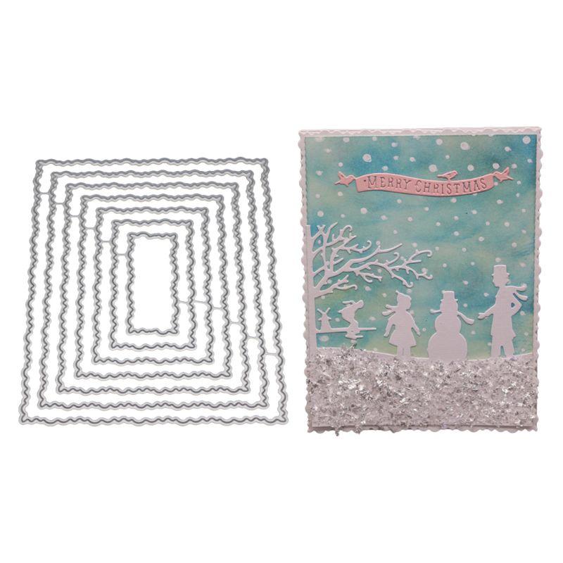 Irregular Cutting Dies Stencil DIY Scrapbook Album Paper Card Embossing Decor