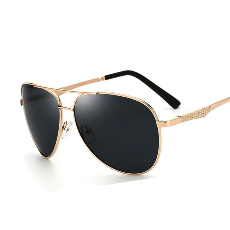 2017 Classic Fashion Brand Designer Cool Polarized Pánské sluneční brýle UV Protect Vysoce kvalitní slitinový rám Sluneční brýle 4 barvy UV400
