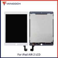 New Original LCD For iPad Air 2 For iPad 6 A1567 A1566 9.7 LCD Display Touch Screen Digitizer Assembly With Adhesive AAA