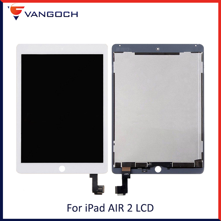 New Original LCD For iPad Air 2 For iPad 6 A1567 A1566 9.7 LCD Display Touch Screen Digitizer Assembly With Adhesive AAANew Original LCD For iPad Air 2 For iPad 6 A1567 A1566 9.7 LCD Display Touch Screen Digitizer Assembly With Adhesive AAA