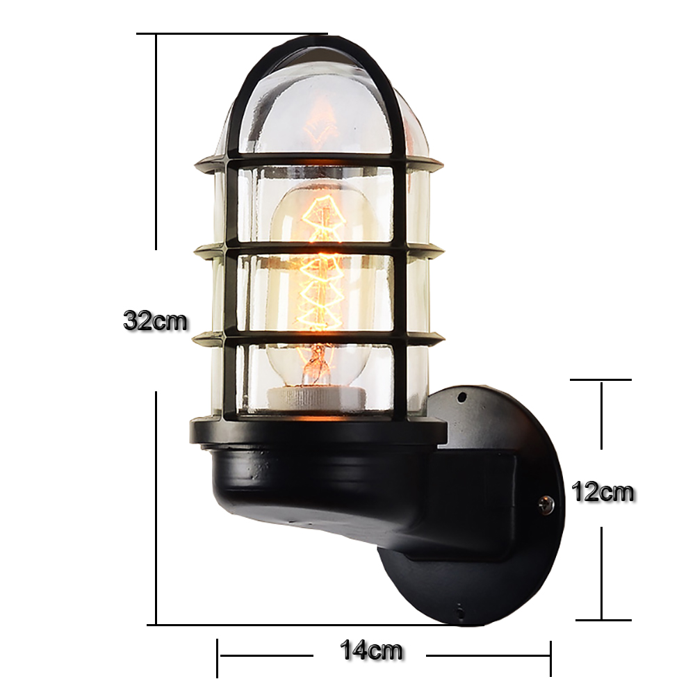 Lamp Light Retro Wall Lights German Industrial Water Pipe Explosion Proof Wall Lamps Sconce Lights