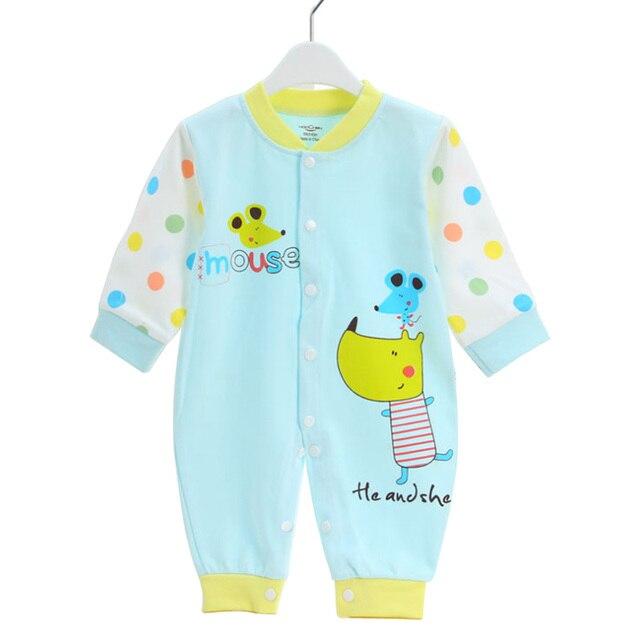 c6f10170d Ropa de bebé 6-12 meses niño niña pelele para Niños Infantes algodón mono  dibujos