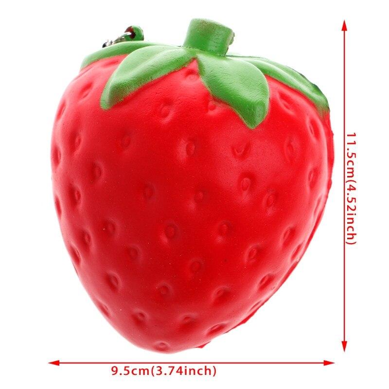 Langzaam Stijgende Squishy Hand Kussen Toy Stress Relief Zoete Geurende Fruit Charm gai