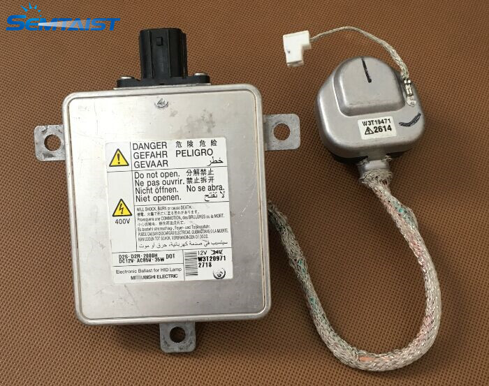 SEMTAIST Genuine OEM ballast D2S D2R xenon ballast W3T20971 W3T19371 with igniter used free shipping