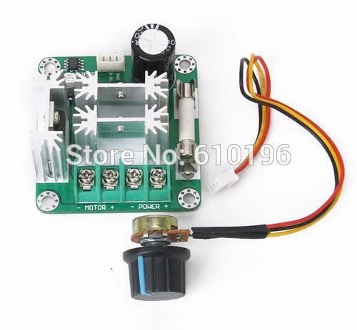 Dc 6v 90v 15a Dc Motor Speed Controller Stepless Speed Regulation Pulse Width Pwm Dc 12v 24v 36v