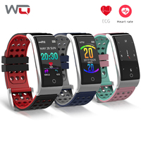 WQ E08 ECG PPG Smart Bracelet ECG+PPG HRV Report Fitness Band Blood Watch Waterproof Motion Track Activity Tracker Waterproof