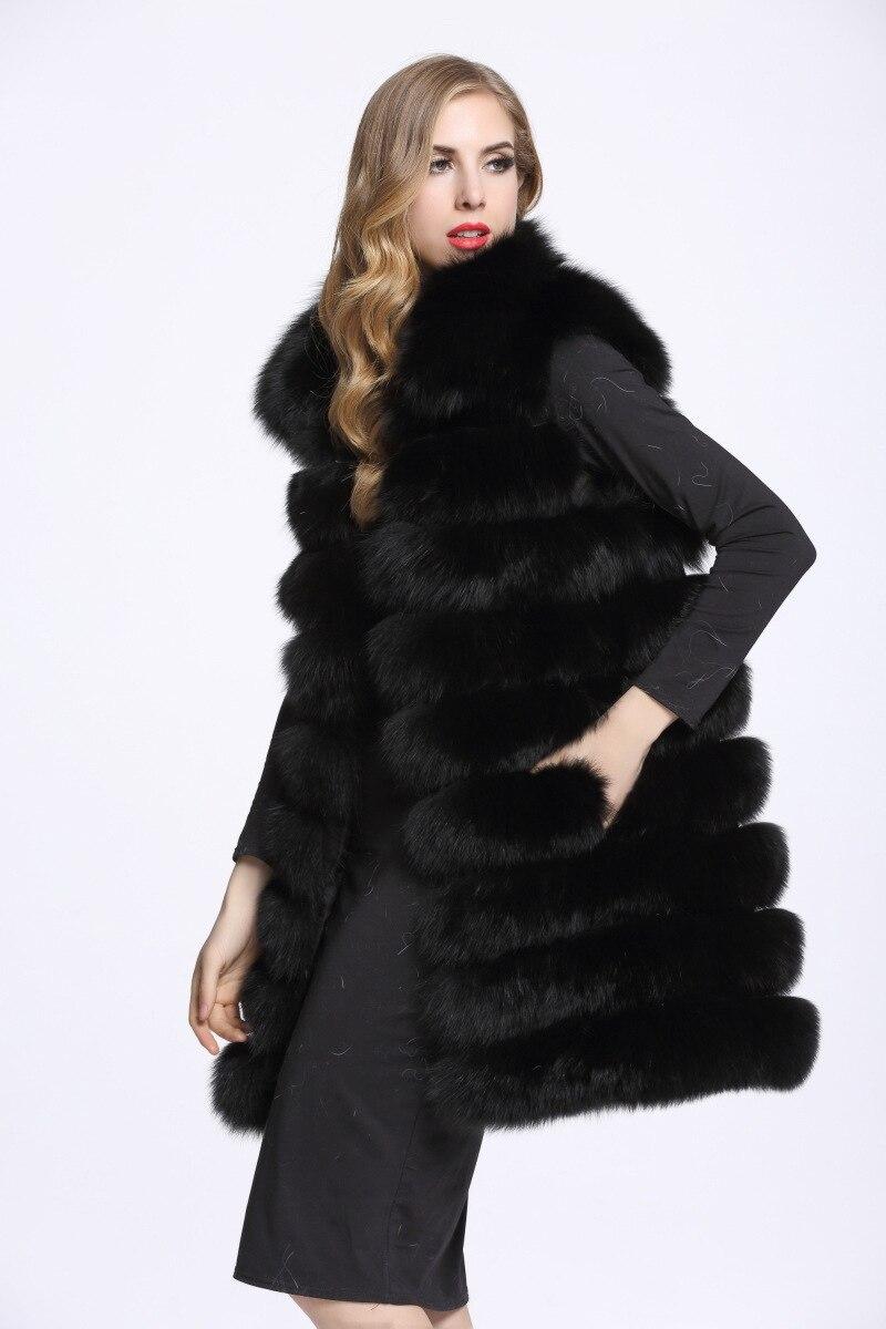 Femmes Fourrure Veste Bouleversé Gros De Blanc Mode Corps Style xaZ0fn
