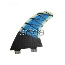 (tri-комплект) фтс ласты плавники серфинга m размер для