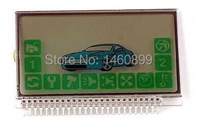 2-way A94 LCD Display For Russian Keychain Two Way Car Alarm System Starline A92 A94 Lcd Remote Control Key Fob Chain