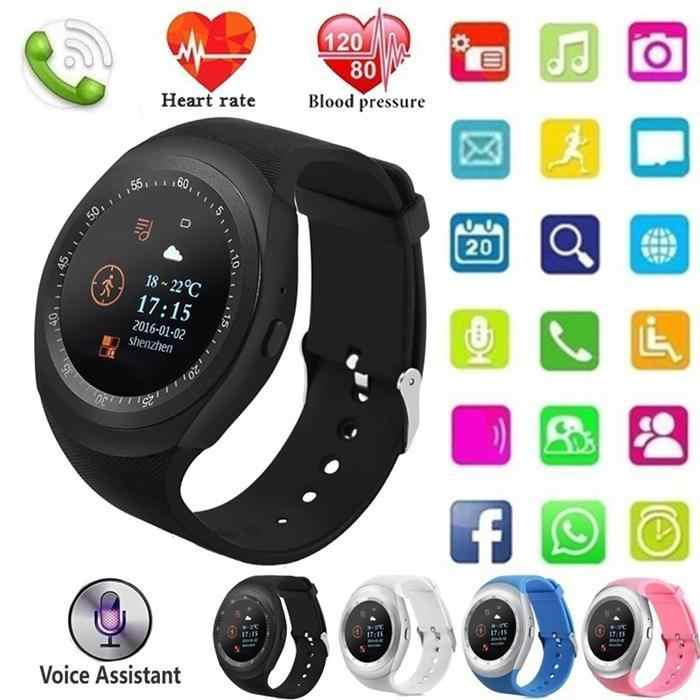 Smart Sport Watch Sports Fitness Activity Heart Rate Tracker Blood Pressure wristband Waterproof band Pedometer for Samsung etc