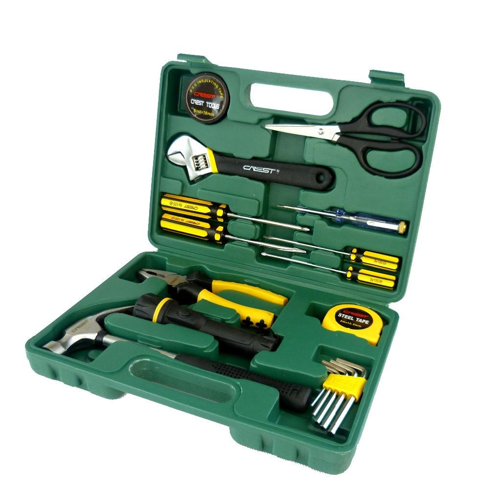 18PC Portable Plastic Tool Cabinet & Chest Auto Home Repair Kit Metric- Lifetime Warranty 011018  rasp dremel 2016  цены
