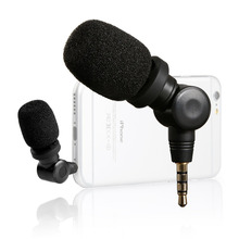 Saramonic iMic Compact Mini Directional Microphone voor Apple iPhone 7s 6s 7 6 plus Samsung Huawei HTC Smartphones Recorder Mic