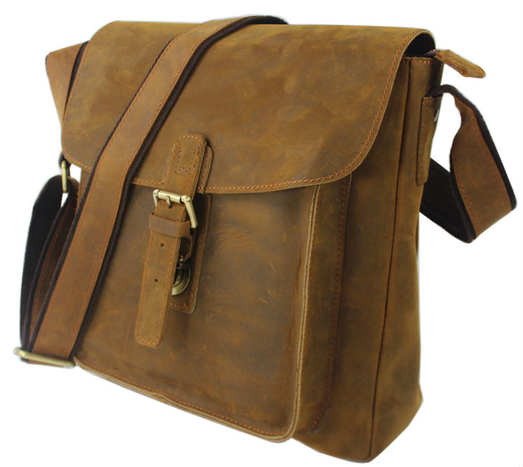 Модная сумка-мессенджер из натуральной кожи, мужская кожаная сумка на плечо, мужская сумка через плечо, мужская сумка на ремне для отдыха, черная, коричневая, средняя