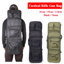 Tactical Rifle Gun Bag Hunting Military Airsoft Air Gun Case Shoulder Holster Bag Multifunctional Hiking Camping Sport Bag black tan tactical rifle airsoft holster case gun bag tactical hunting bag military backpack camping fishing accessories bag