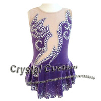 Hot Sales Custom Ice Skating Dress For Girls Beautiful New Brand Vogue Figure Skating Dresses For Competition DR2806