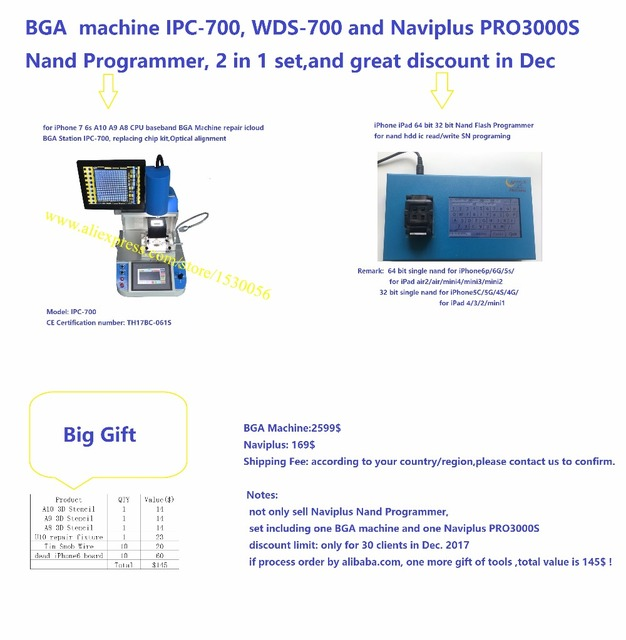 For Iphone 7 6s Samsunghtc Repair Bga Station Machine Ipc 700wds