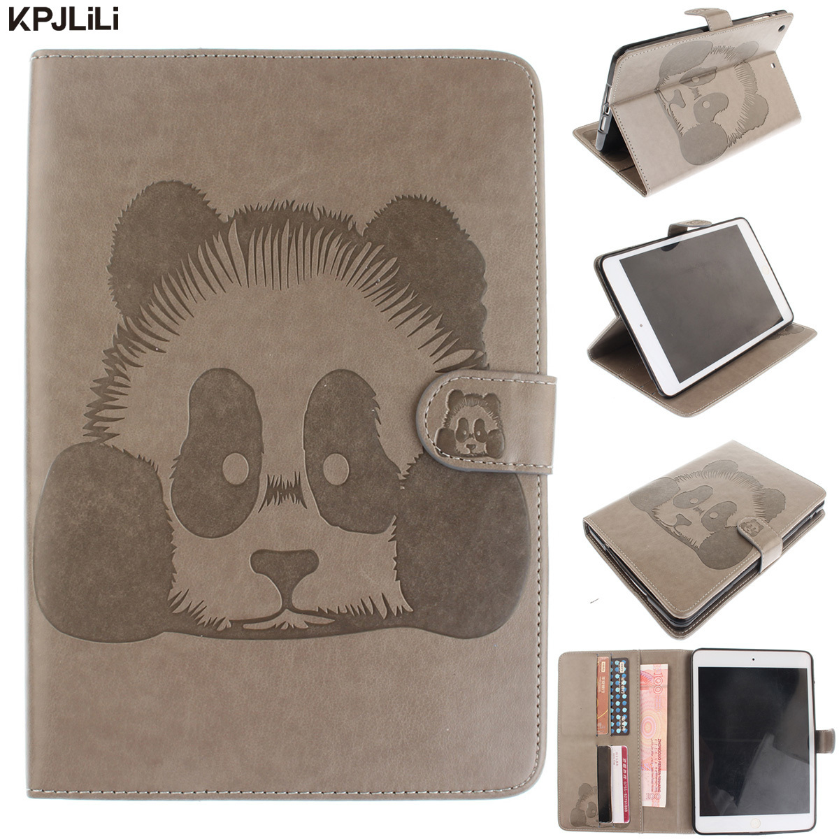 Luxury PU Leather Cover Case for Apple iPad Air 1 Cute Cartoon Wallet Card Slot Flip Stand Funda Smart Magnetic Cover for Air 1 степлер для скоб и гвоздей stayer master 31508 z02