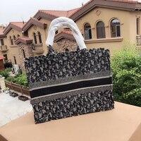 2019 Fashion Designer Brand New Letters Female Casual Shopping Bag Handbag Crossbody Canvas ladies Shoulder Bag Shopping Handbag