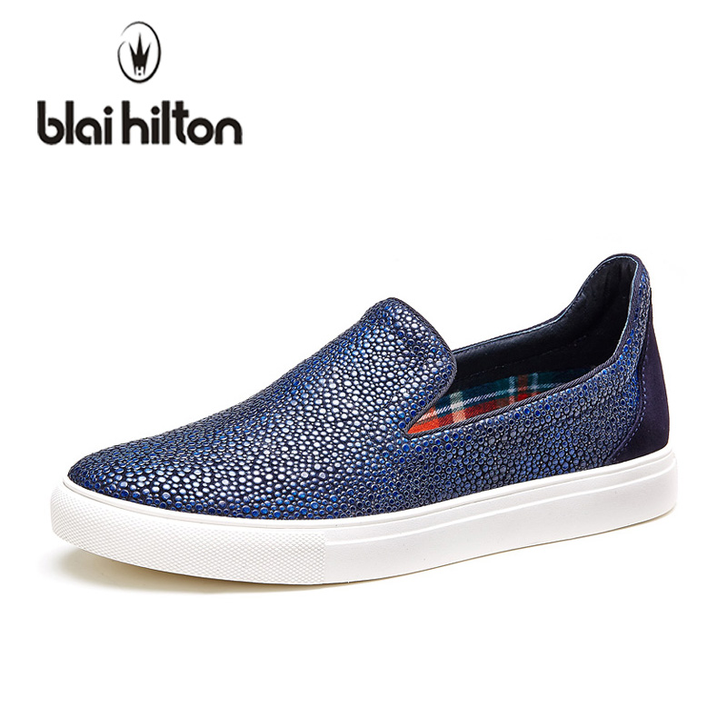 Blaibilton Summer Cool Luxury 100% Genuine Leather Slip On Loafers Men Shoes Fashion Flats Mens Casual Boat Designer Driving Red