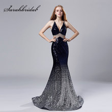 138071e618 Backless Navy Prom Dress Promotion-Shop for Promotional Backless ...