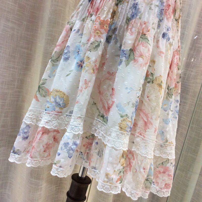 Haute qualité nouvelle mode femmes 2019 robe d'été de luxe célèbre marque conception européenne parti style robe WD05330 - 6