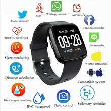 BT4.0 Y7 Pulseira Pulseira Inteligente Relógio Inteligente Pressão Arterial Monitor de Freqüência Cardíaca Aptidão Para Android IOS 3C08