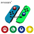 IVYUEEN 2 pcs Silicone Analog Thumb Stick Grips Caps for Nintend Switch NS JoyCon Controller Sticks Cap Skin for Joy Con Cover
