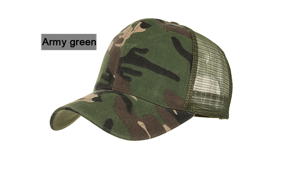 a5100803b Details about Camouflage Mesh Trucker Cap for Men - Camo Plain Mesh Trucker  Hat Adjustable