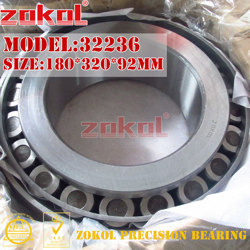 ZOKOL bearing 32236 7536E Tapered Roller Bearing 180*320*92mm пуховая куртка lebek