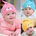 Moda unissex chapéus de algodão chapéu do bebê primavera outono colorido bonito recém-nascidos chapéus infantil cap para meninos das meninas da roupa do bebê acessórios