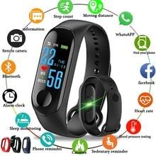 M3 Smart Bracelet Fitness Tracker VS Plus Watch Heart Rate Monitor PK Mi Band 3 Waterproof Wristband