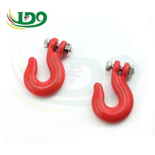 1:10 Scale Alloy Hooks Red for RC Crawler Truck Accessory x 2PCS