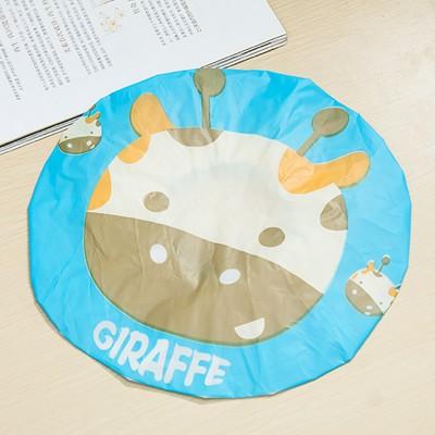 Cartoon prevent lampblack cap Kawaii Animal PVC Waterproof Shower Cap Bath 26*26cm free shipping