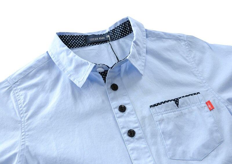 Aliexpress.com  Comprar ¡Oferta! camisas de algodón para niños 100 ... 5b1a614a18f96