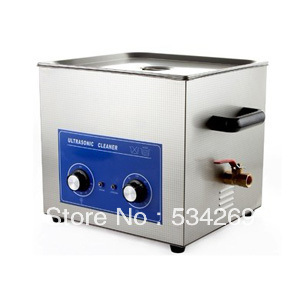 15L SS Ultrasonic Cleaner with Mechanical Timer and Heater (including Washing Basket)