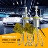 Super Bright R3 9600lm H8 H9 H11 Xenon White 6000K Car LED Headlight Conversion Kit XHP