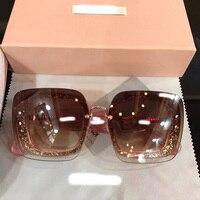 2018 luxury Runway sunglasses women brand designer sun glasses for women Carter glasses Y0902