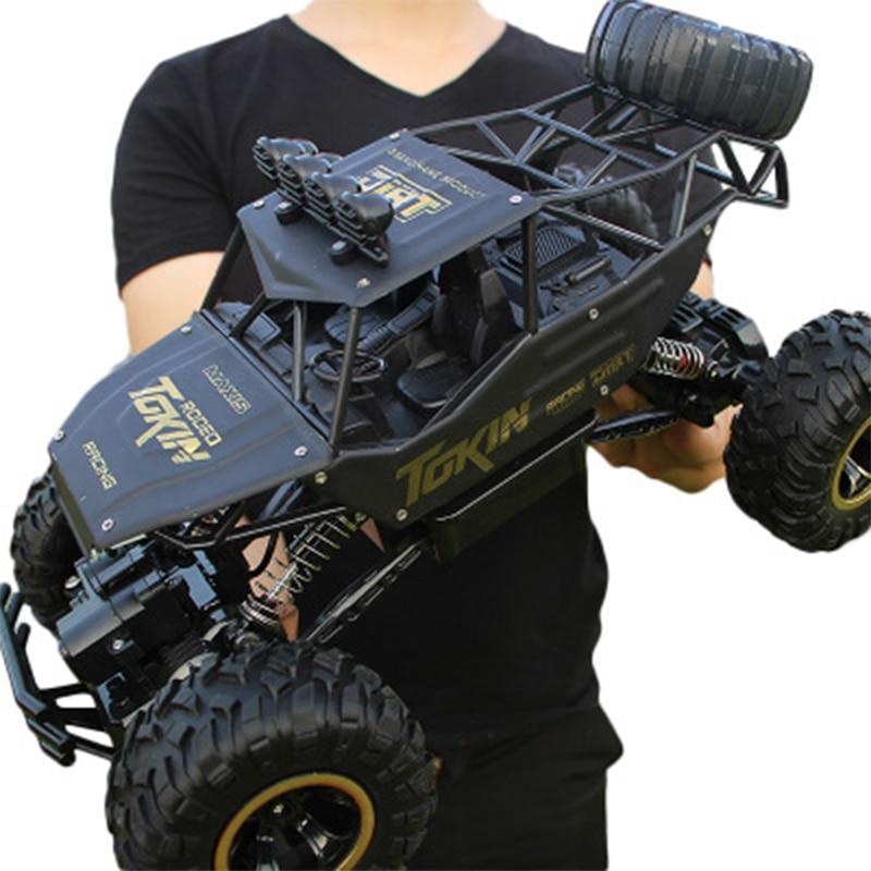 Carro RC 1/12 4WD Veículo de Controle Remoto de Alta Velocidade 2.4Ghz Brinquedos Monster Truck Elétrico DO RC De Buggy Off-Road brinquedos Infantis Presentes Surpresa