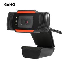 GuHO USB 2.Zero HD Net Cam Digital camera 640X480 Constructed-in Sound Absorbing Microphone Filmadora USB Video for Xiaomi Mi Laptop computer Skype MSN