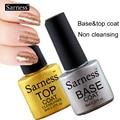 sarness Primer Sapphire Bonder intense seal BASE TOP COAT Nail Art Soak Off Color UV matte Foundation Gel Polish Varnish