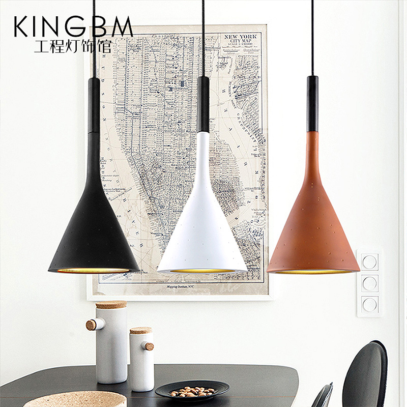 Modern simple personality restaurant led chandelier, Nordic three living room, bedroom iron bar, cement chandelier. modern fashion simple iron industrial wind pentagonal star chandelier hall corridor living room bedroom chandelier page 5