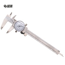 Promo offer Metric Gauge Measuring Tool Dial Caliper 0-150mm Accuracy 0.02mm Stainless Steel Dial display Precision Vernier Caliper D1028