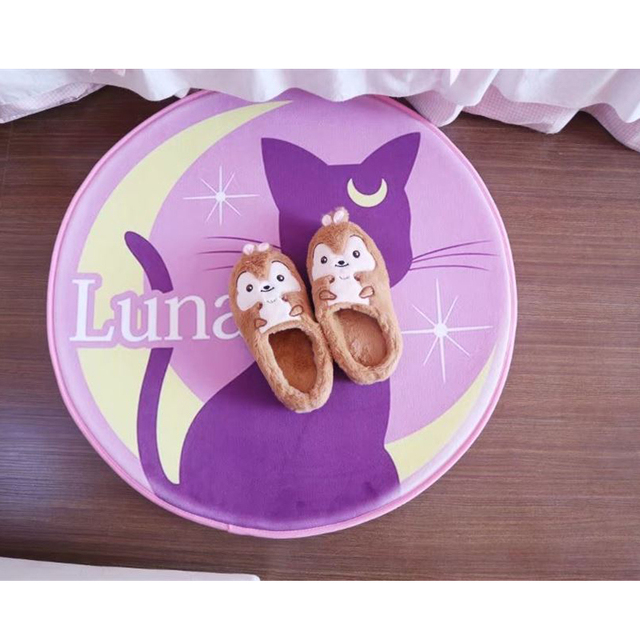 Sailor Moon Plush Luna Cat Birthday Party Gift Girlfriend 72x72 Cm Home Decor Cute Stuff Kitten