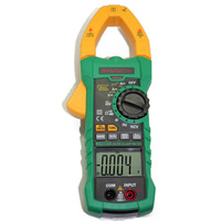 MASTECH MS2115A AC DC Digital Clamp Meter Multimeter Auto Ranging Auto Power Off
